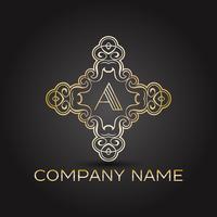 Logotipo da empresa elegante vetor