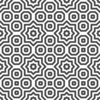 padrão de formas de estrela árabe octogonal sem emenda abstrato. padrão geométrico abstrato para vários fins de design. vetor