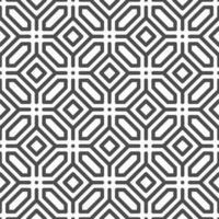 padrão de formas de pontos quadrados de hexágono octogonal sem emenda abstrato. padrão geométrico abstrato para vários fins de design. vetor