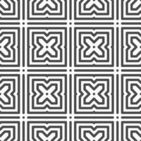 abstrato sem costura hexagonal cross shapes pattern. padrão geométrico abstrato para vários fins de design. vetor