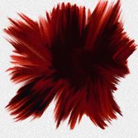 Explosão em aquarela vetor
