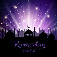 Ramadan Kareem fundo vetor