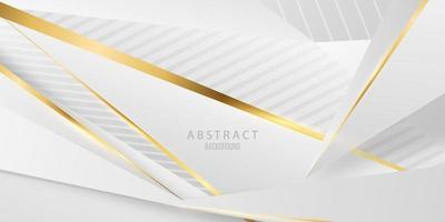 poster abstrato da beleza do fundo cinzento e dourado com dinâmica. ilustração em vetor tecnologia rede.