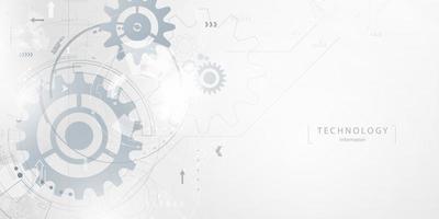 negócios tecnologia negócios e tecnologia de fundo vector
