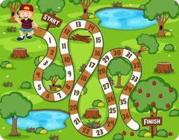 modelo de jogo labirinto de desenho bonito vetor