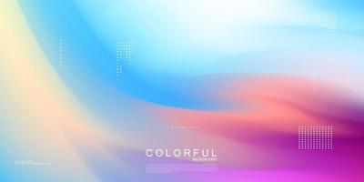 conceito abstrato de gradiente pastel para design gráfico, plano de fundo ou papel de parede vetor