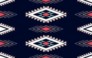 Projeto tradicional de padrão étnico geométrico para plano de fundo, tapete, papel de parede, roupas, embrulho, batik, tecido, sarongue vetor