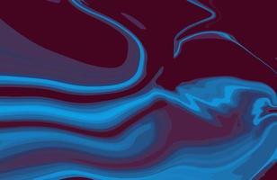 fundo de textura de mármore líquido duotônico abstrato. Design moderno de papel de parede de ágata marmorizado com redemoinhos de mármore em estilo natural e luxuoso vetor