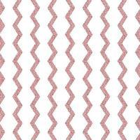 Seamless glitter pattern background com champagne linha zig zag para papel de parede e cartão comemorativo vetor