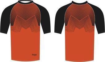 modelos de camisa de compressão masculina com design personalizado vetor
