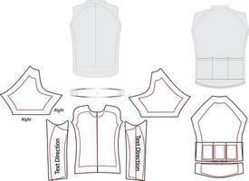 manga raglan padrão completo de sublimação personalizado vetor