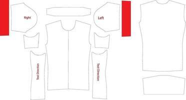 modelo de arte estampa estampa de jersey