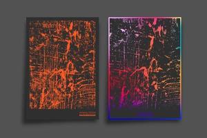 design de textura gradiente e grunge para plano de fundo, papel de parede, folheto, cartaz, capa de brochura, tipografia ou outros produtos de impressão. ilustração vetorial vetor