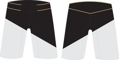 Mma shorts mock ups vetor