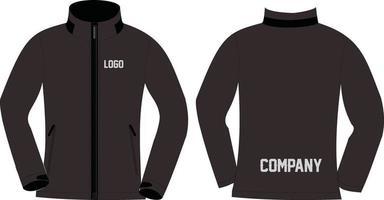 jaquetas softshell designs personalizados vetor