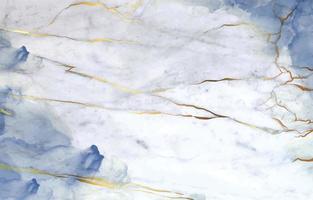 mármore branco com fundo de tinta álcool azul escuro