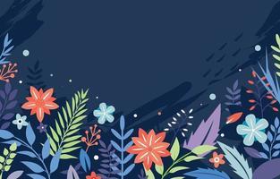 fundo de primavera floral vetor
