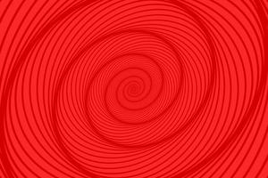 fundo espiral vermelho abstrato vetor