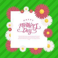 Dia das mães banner vector