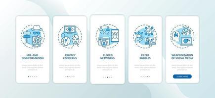 desafios do jornalismo para integrar a tela da página do aplicativo móvel com conceitos