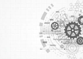 abstrato tecnologia comunicação design inovação conceito base. ilustração vetorial
