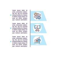 ícone do conceito de análise de big data com texto vetor