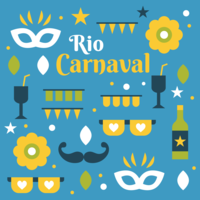 Vetor De Carnaval Do Rio