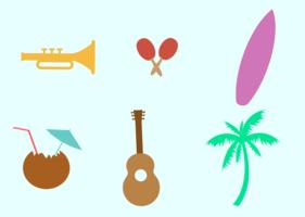 Festa do Havaí vetor