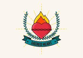 Coração Sagrado vetor