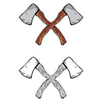 vetor vintage machado
