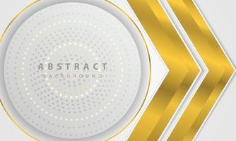 vetor moderno abstrato ouro linha prata fundo. vetor de design de conceito elegante. modelo de design de vetor para usar quadro, capa, banner, cartão