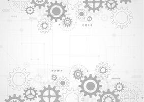 abstrato base de tecnologia. engenharia moderna, futurista, conceito de comunicação científica. ilustração vetorial