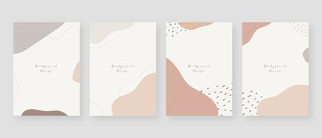 fundo de conceito mínimo. fundos abstratos de memphis com espaço de cópia para o texto. ilustração vetorial. vetor
