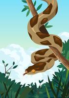 Serpente vetor