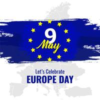 Dia Nacional da Europa vetor