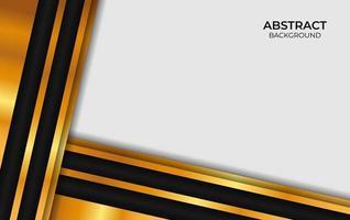 fundo abstrato luxuoso preto e dourado vetor