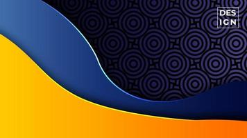 fundo abstrato moderno gradiente colorido. formas geométricas padrão de fundo. pode usar para negócios, apresentação, banner da web, plano de fundo. vetor