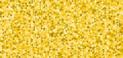 triângulos amarelos abstratos padrão textura de fundo sem emenda vetor