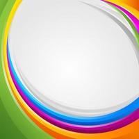 abstrato colorido vetor