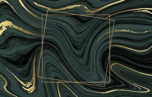 fundo de mármore inkscape com linha dourada vetor