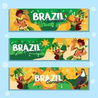 a festa do carnaval brasileiro vetor