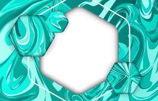 textura de mármore verde vetor