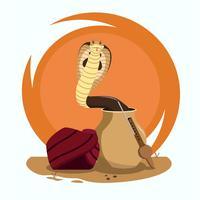 Ilustração de cobra vetor