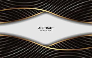 apresentação de fundo de luxo design abstrato vetor