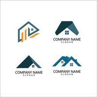 modelo de logotipo de propriedade vetor
