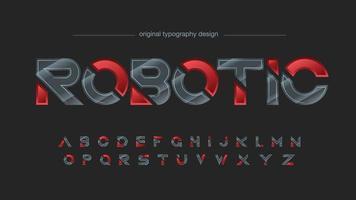 fibra de carbono e tipografia esportiva moderna vermelha vetor
