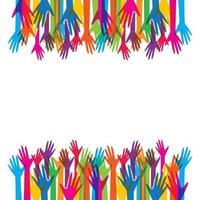imagens do logotipo da mão vetor