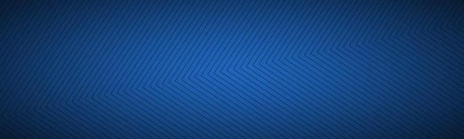 cabeçalho abstrato azul moderno. a aparência de um banner de aço inoxidável. linhas quadradas em um fundo azul vetor