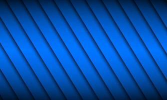 fundo azul do material design com sombras diagonais. ilustração em vetor widescreen abstrato moderno