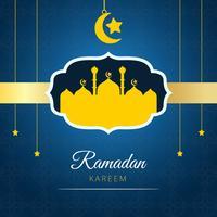 fundo de vetor ramadan kareem